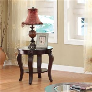 Acme Furniture Riley Round End Table