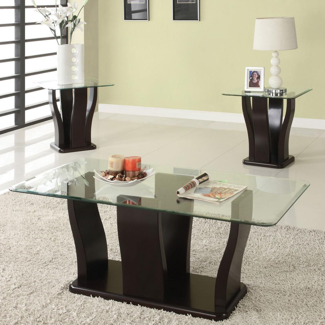 Acme Furniture Shaker 3Pc C/E Table Set - Item Number: 18450