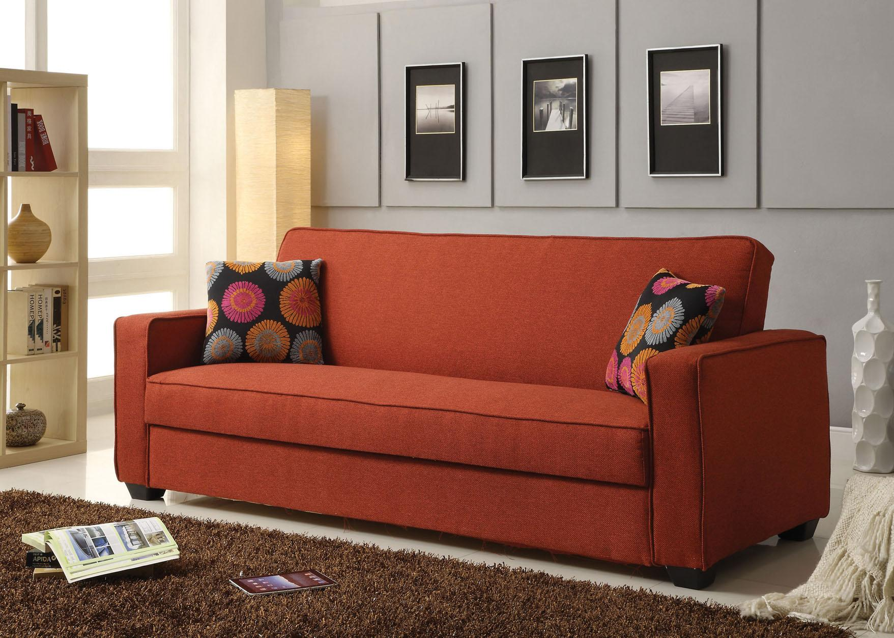 Acme Furniture Shani Linen Adjustable Sofa with Storage - Item Number: 57072