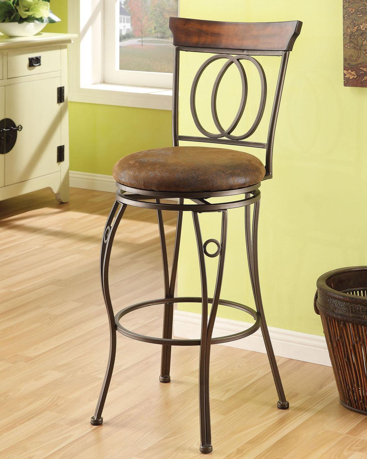 Acme Furniture Tavio Swivel Bar Chair - Item Number: 96046