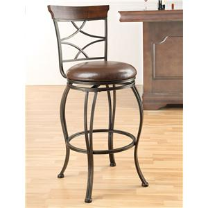Acme Furniture Tavio Swivel Bar Chair
