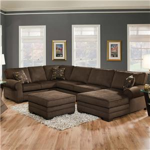 Acme Furniture Tenner 3 Pc Sectional Sofa w/ RAF Chaise