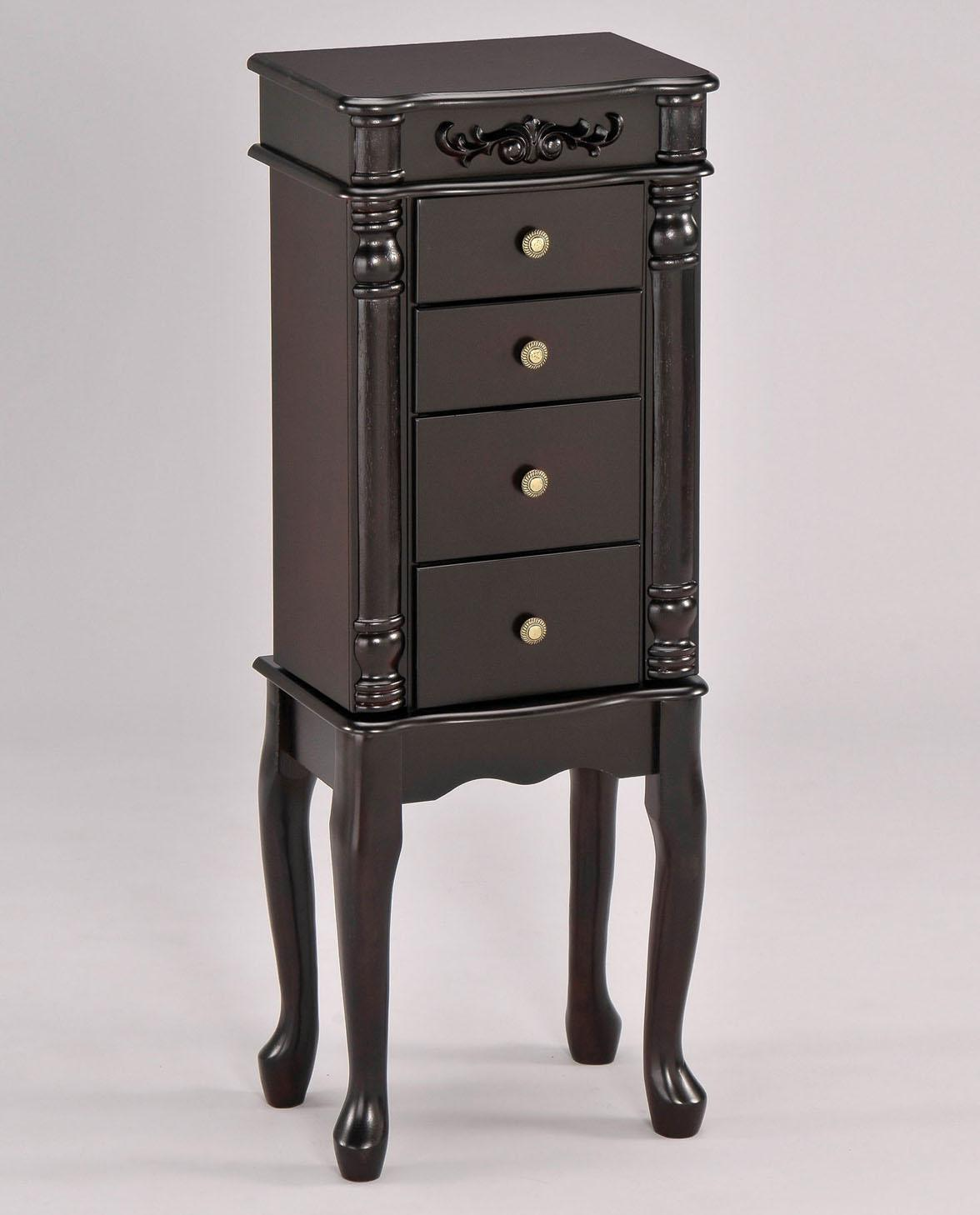 Acme Furniture Tiana Jewelry Armoire - Item Number: 16008