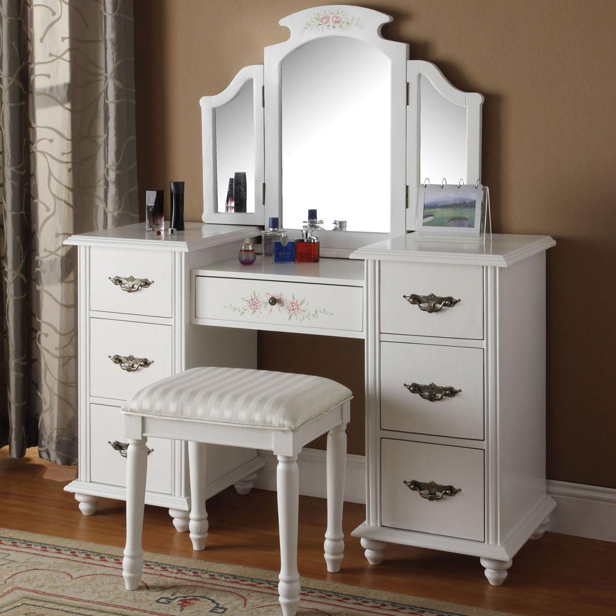 Acme Furniture Torian Vanity Group - Item Number: 90026+90027