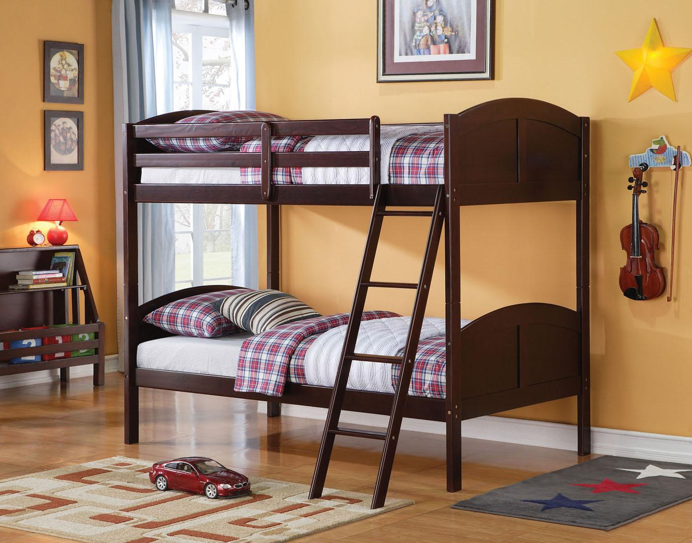 Acme Furniture Toshi Twin Bunk Bed - Item Number: 37010