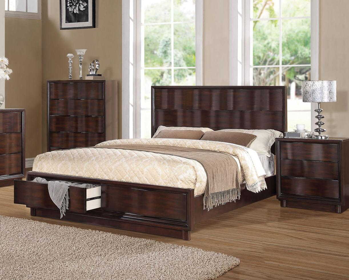 Acme Furniture Travell Eastern King Bed - Item Number: 20517EK