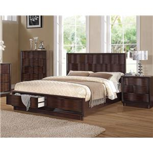 Acme Furniture Travell Queen Bed