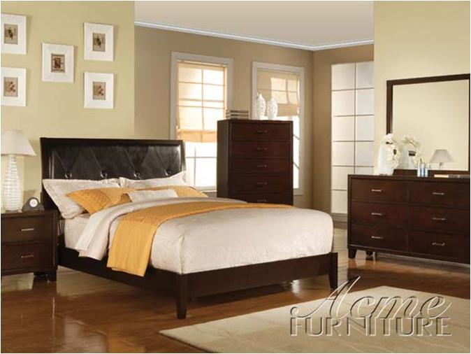 Acme Furniture Tyler 4 Piece Bedroom Set - Item Number: 1954-6BED