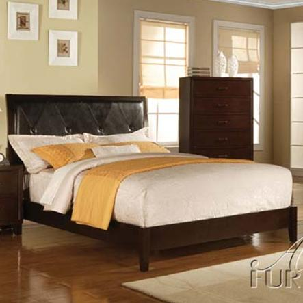 Acme Furniture Tyler Queen Upholstered Panel Bed Michael 39 S Furniture Warehouse Headboard