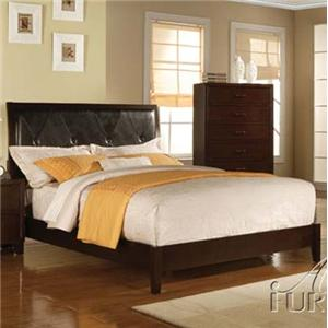 Acme Furniture Tyler Queen Upholstered Panel Bed