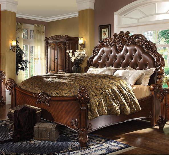 Acme Furniture Vendome California King Panel Bed - Item Number: 21994CK