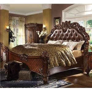 Acme Furniture Vendome Queen Panel Bed