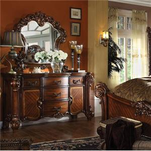 Acme Furniture Vendome Dresser and Mirror Set