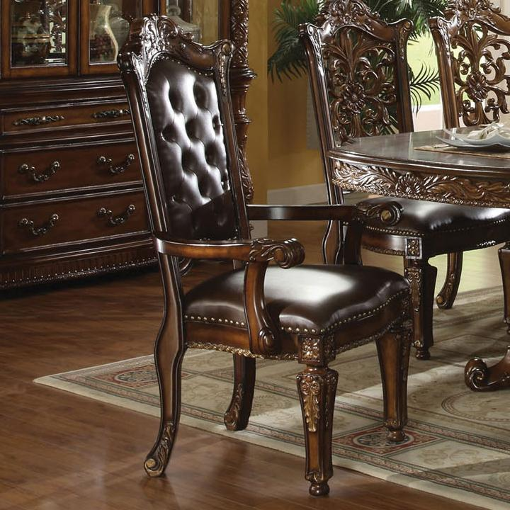 Acme Furniture Vendome Dining Arm Chair - Item Number: 60004