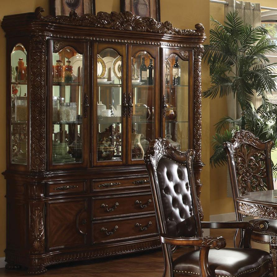 Acme Furniture Vendome Hutch & Buffet - Item Number: 60006