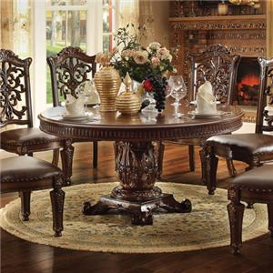 Acme Furniture Vendome 72 inch Round Dining Table