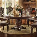 Acme Furniture Vendome 72 inch Round Dining Table - Item Number: 62020