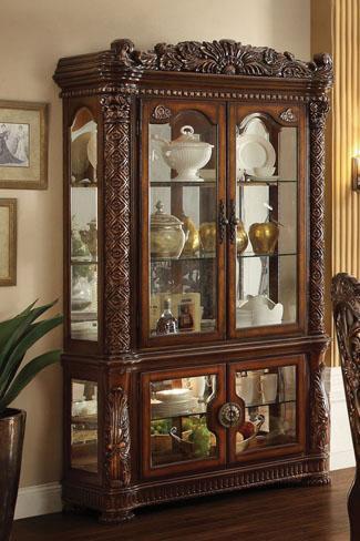 Acme Furniture Vendome Curio Cabinet - Item Number: 62023