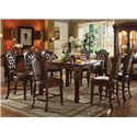Acme Furniture Vendome 9 Piece Table and Chairs Set - Item Number: 62025+8x62034