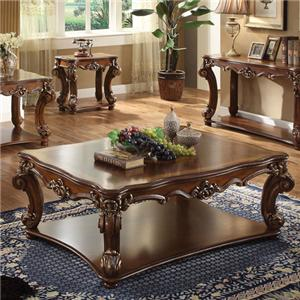 Acme Furniture Vendome Rectangular Coffee Table
