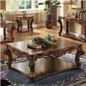 Acme Furniture Vendome Rectangular Coffee Table - Item Number: 82000