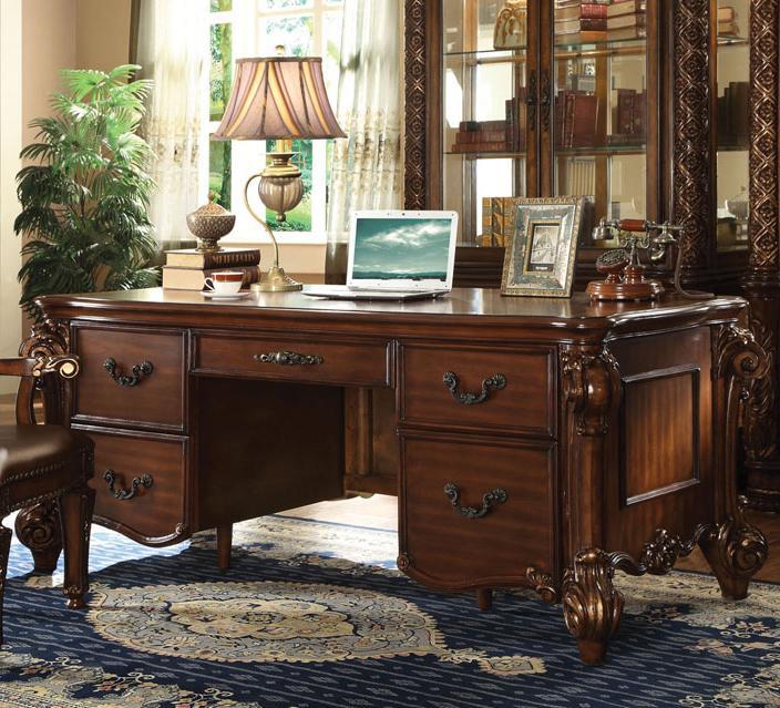Acme Furniture Vendome Desk - Item Number: 92125