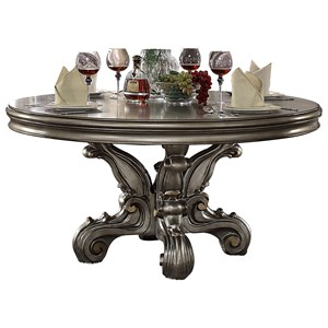 Dining Table (Round Pedestal)