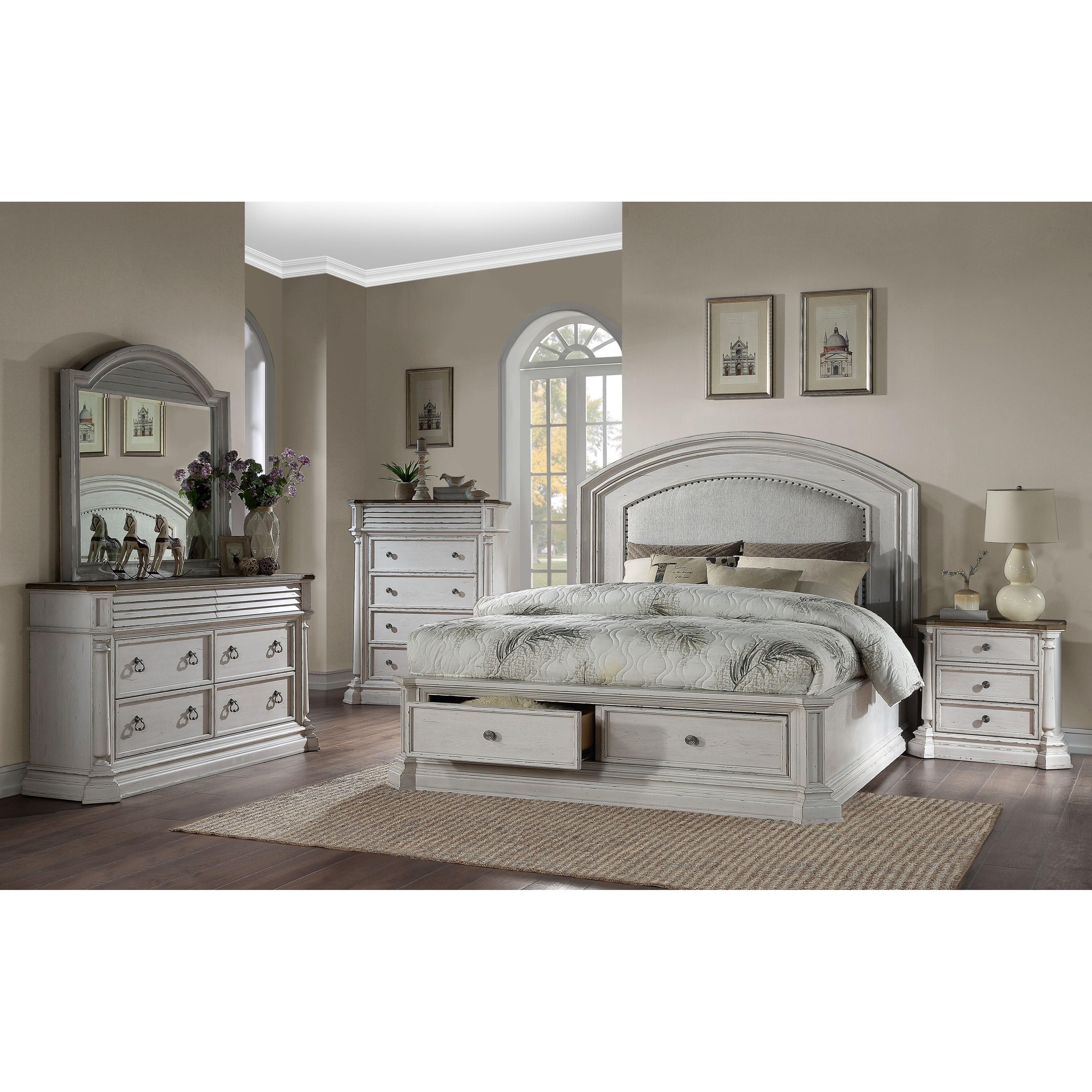York Shire Queen Bedroom Group
