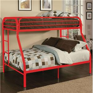 Acme Furniture Youth Bunk Beds Twin Full Bunk Bed