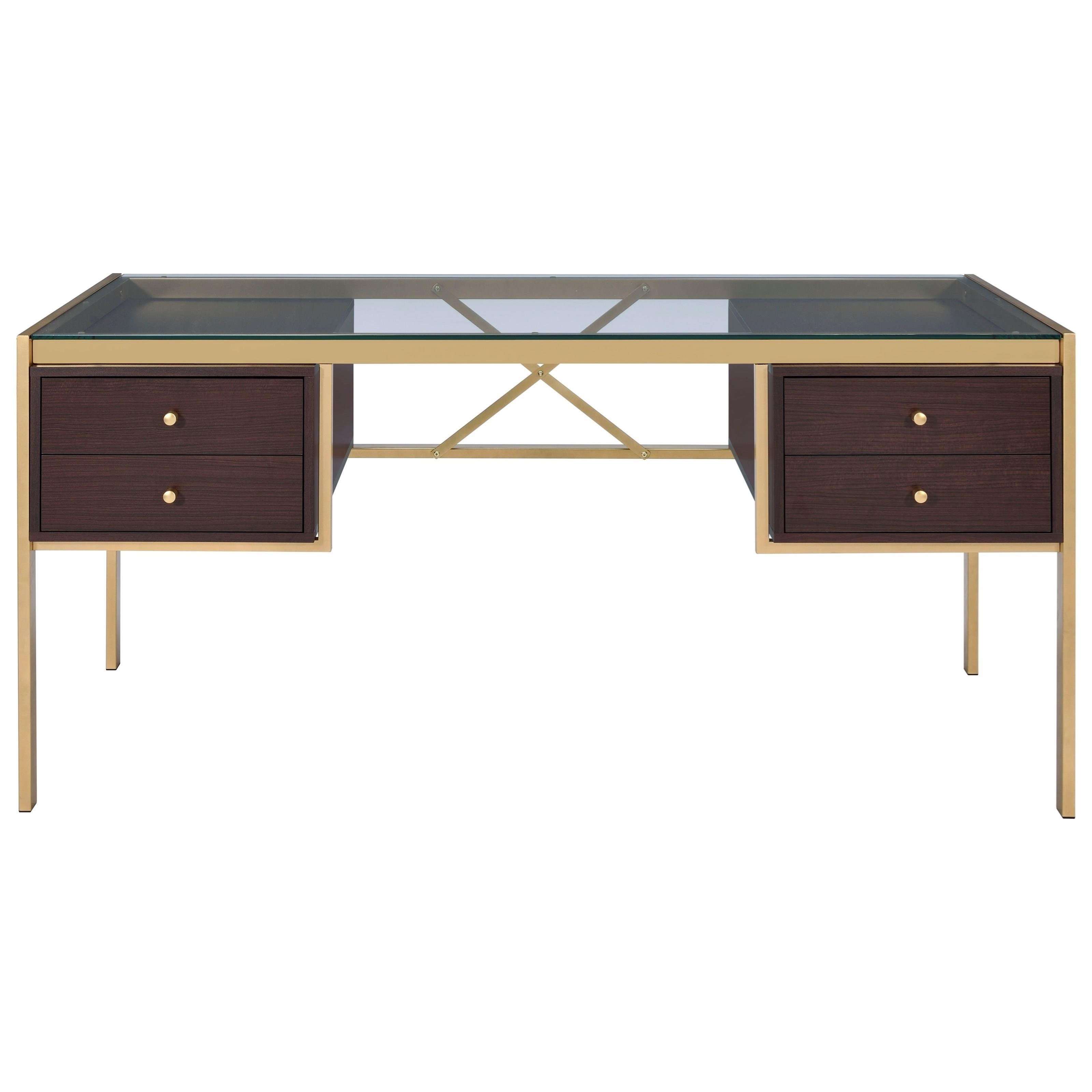 Yumia Desk by Acme Furniture at Carolina Direct
