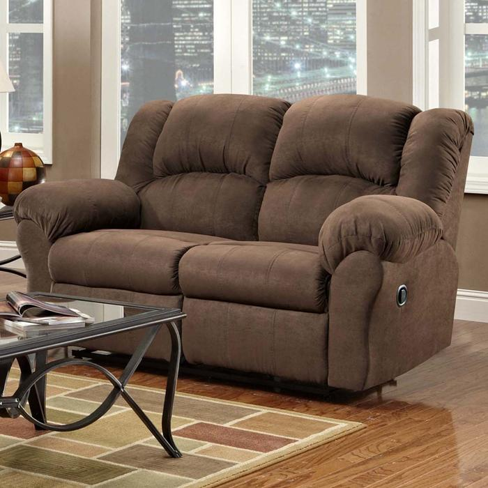 1000 Reclining Loveseat by Affordable Furniture at Wilcox Furniture
