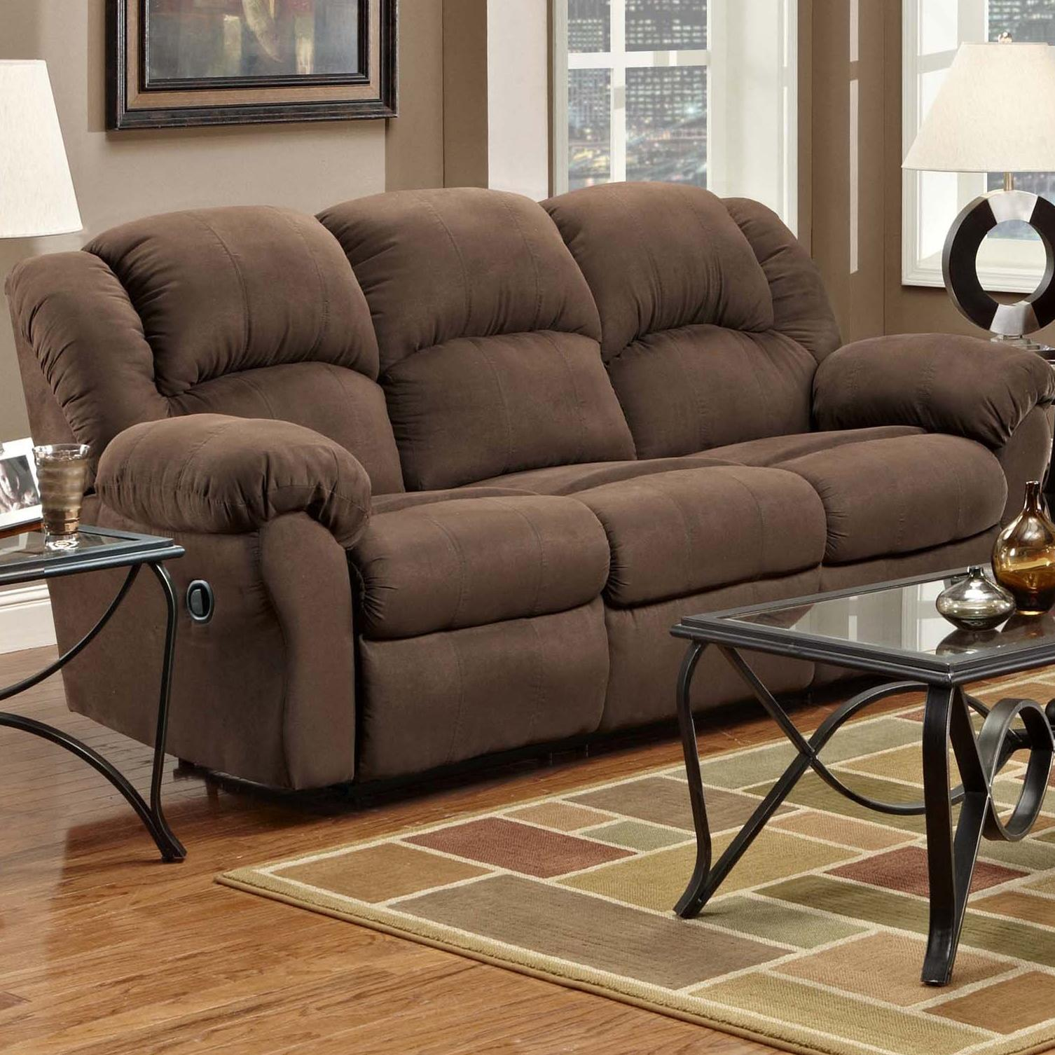 Affordable Furniture 1000 Reclining Sofa - Item Number: 1003
