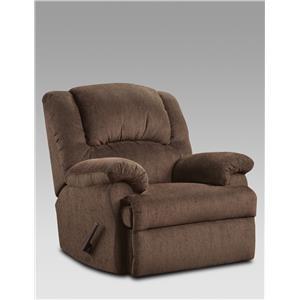 Affordable Furniture 1000 Aspen Chocolate Rocker Recliner