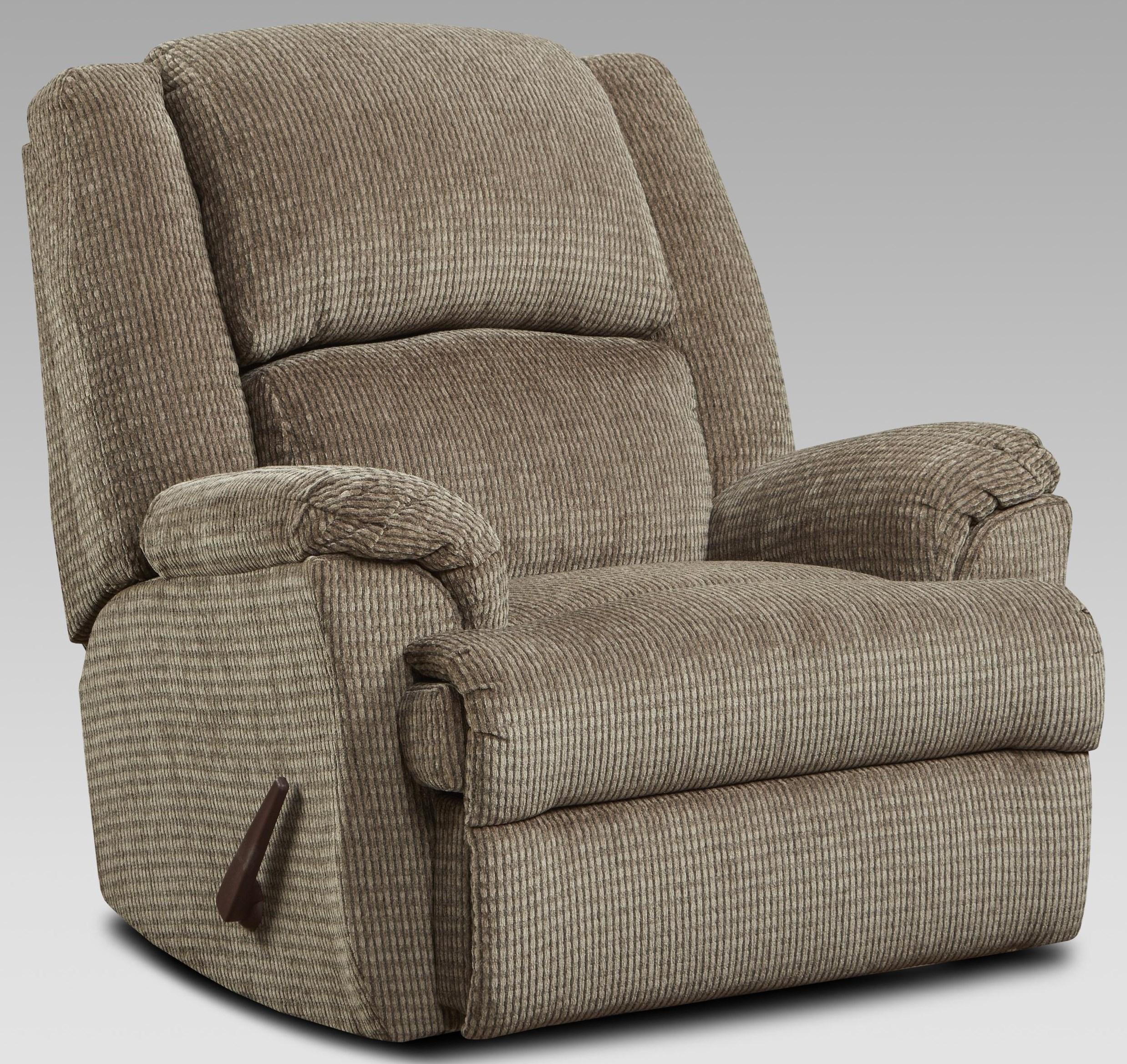 2600 2600 MOCHA RECLINER by Affordable Furniture at Furniture Fair - North Carolina