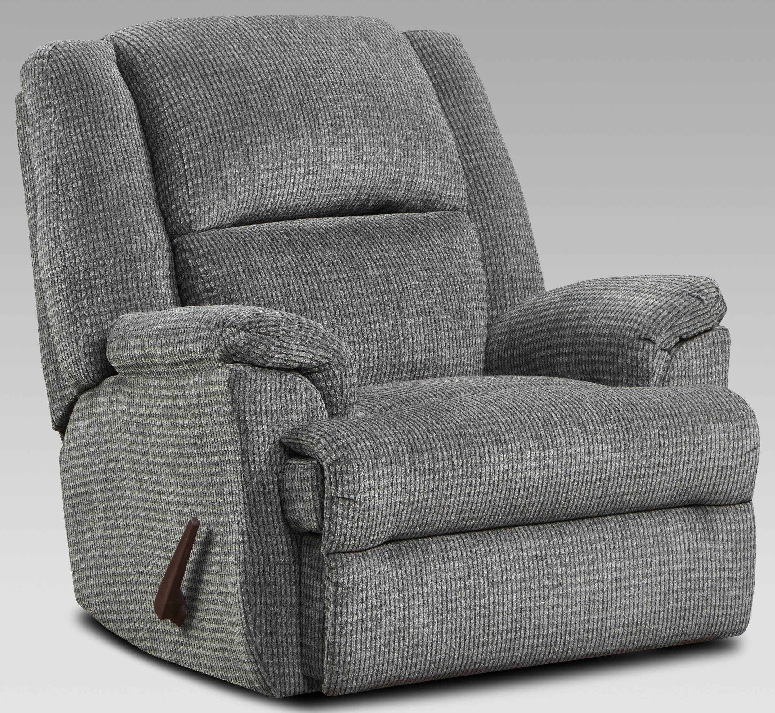 2600 2600 PEWTER RECLINER by Affordable Furniture at Furniture Fair - North Carolina