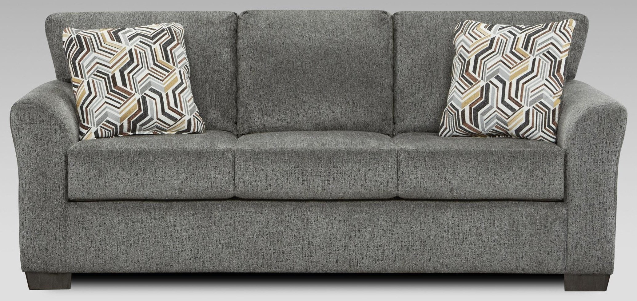 3333 3333 Grey Sleeper Sofa by Affordable Furniture at Furniture Fair - North Carolina