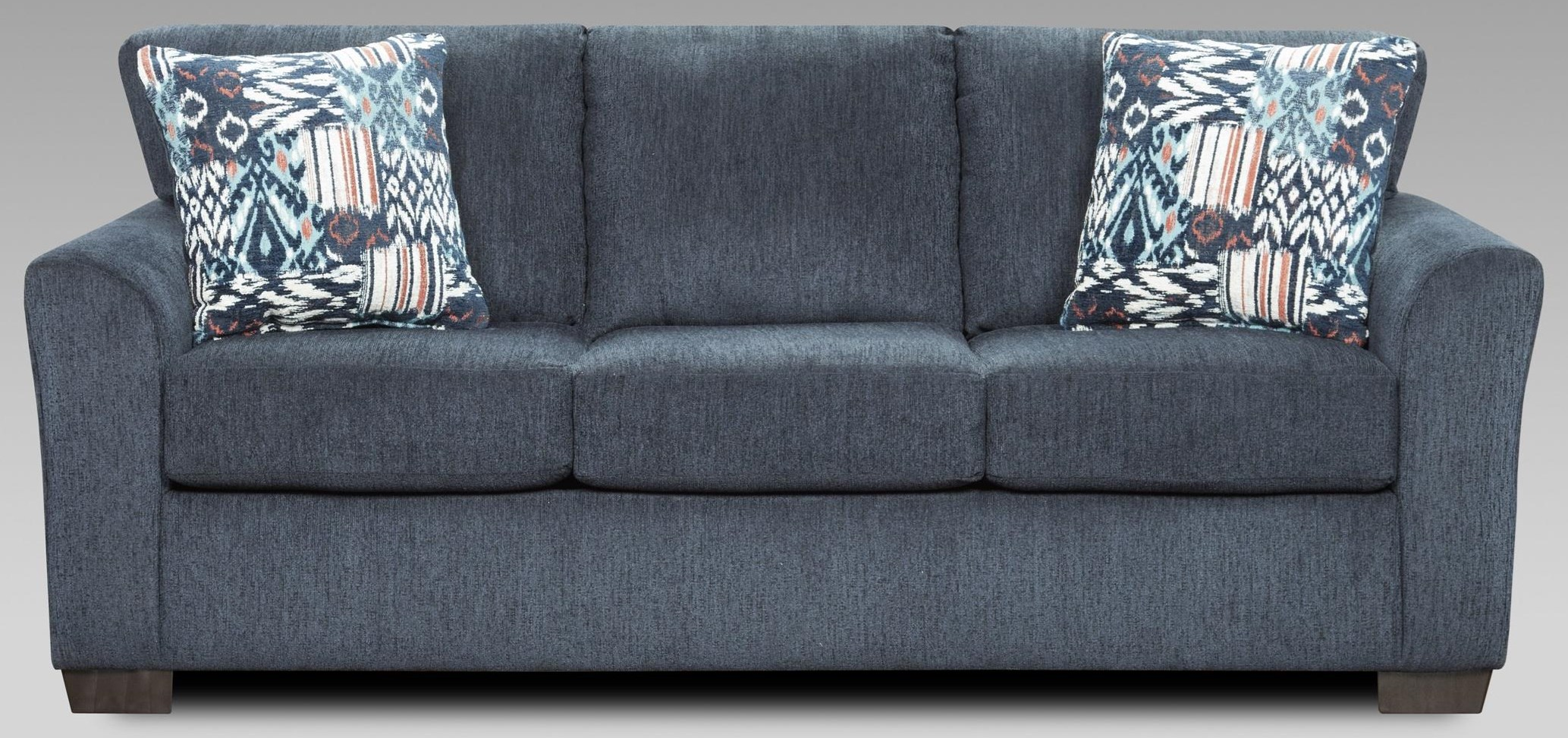 3333 3333 Navy Sleeper Sofa by Affordable Furniture at Furniture Fair - North Carolina