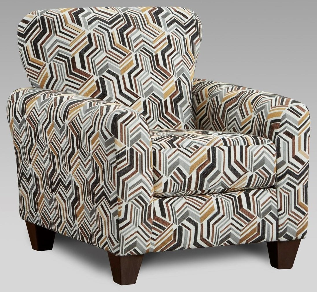 3333 9001 Grey Accent Chair by Affordable Furniture at Furniture Fair - North Carolina