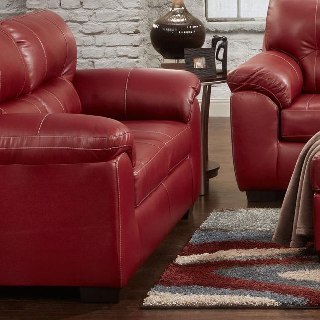 5600 Loveseat by Affordable Furniture at Wilcox Furniture