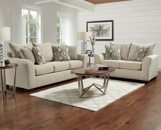 Sofa, Loveseat and Accent Chair