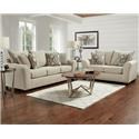Affordable Furniture 5700 Sofa, Loveseat and Accent Chair - Item Number: 123357091