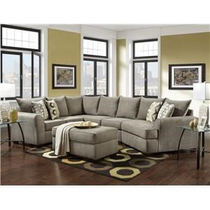 Affordable Furniture 5750 3 Piece Sectional