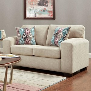 Affordable Furniture 5900 Contemporary Loveseat - 5902