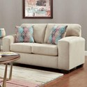 Affordable Furniture 5900 Contemporary Loveseat - Item Number: 5902