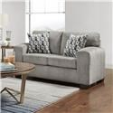 Affordable Furniture Silverton Contemporary Loveseat - Item Number: 5902