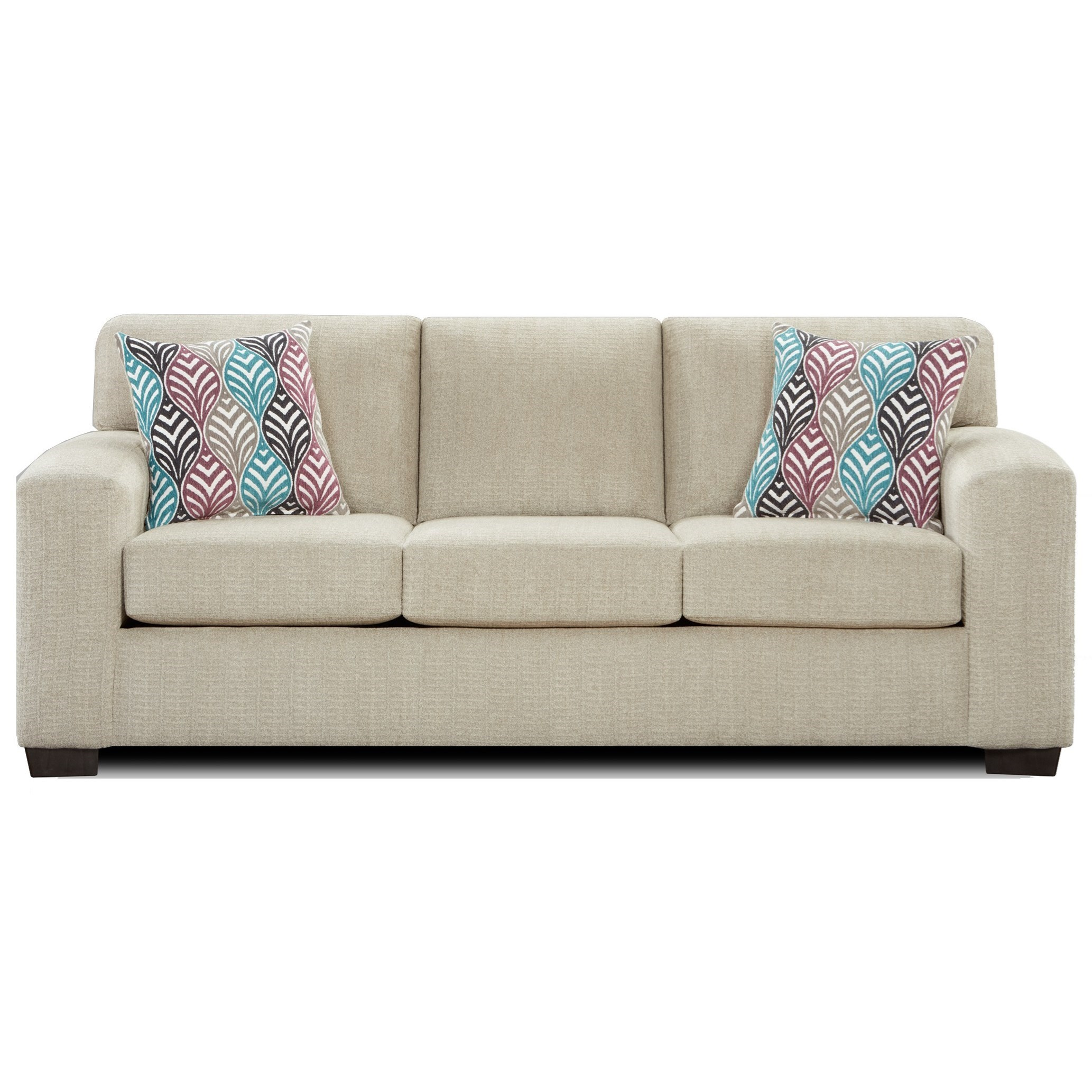 Affordable Furniture 5900 Contemporary Queen Sleeper Sofa