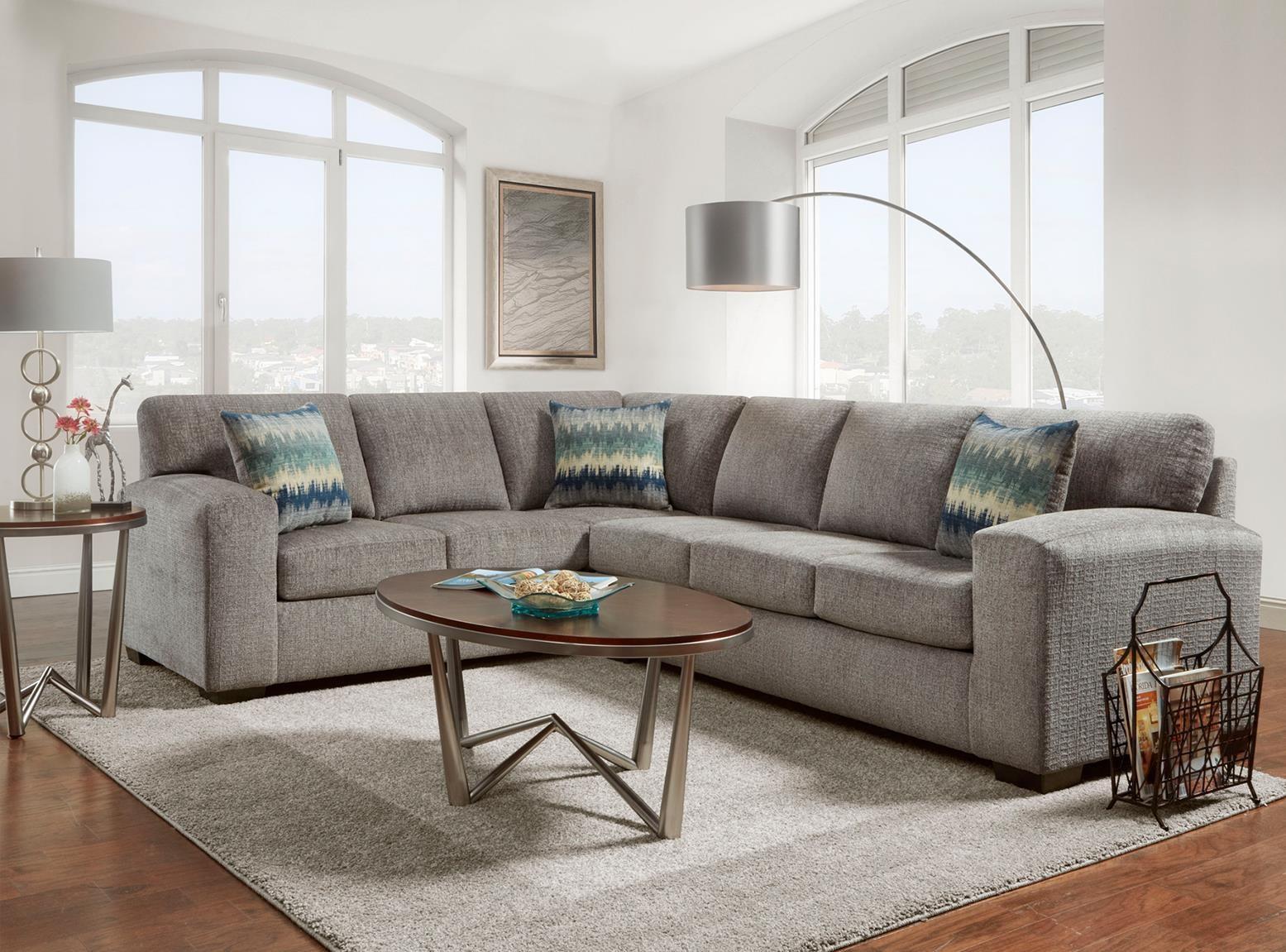 2PC Sectional Sofa