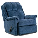 Affordable Furniture 6150 Rocker Recliner - Item Number: 2100-Blue