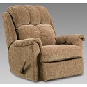 Affordable Furniture 6150 Rocker Recliner - Item Number: 2100-Brown