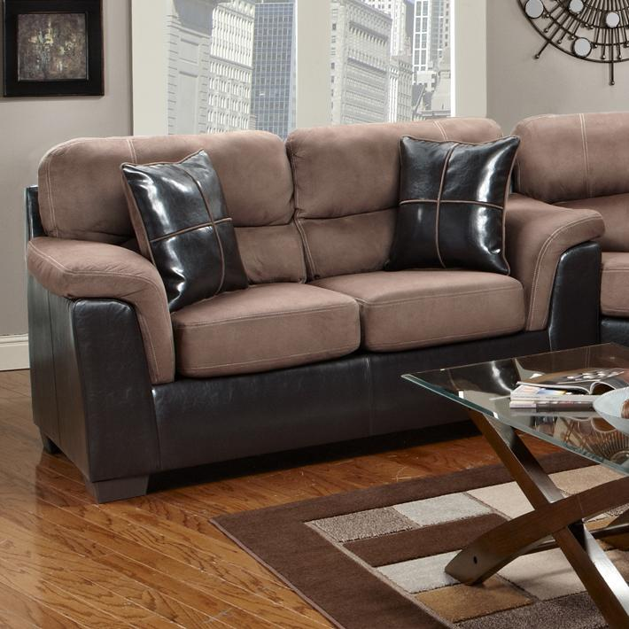 6200 Loveseat by Affordable Furniture at Wilcox Furniture